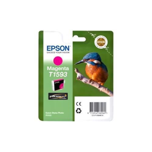 Epson UltraChrome Hi-Gloss2 T1593 Ink Cartridge - Magenta
