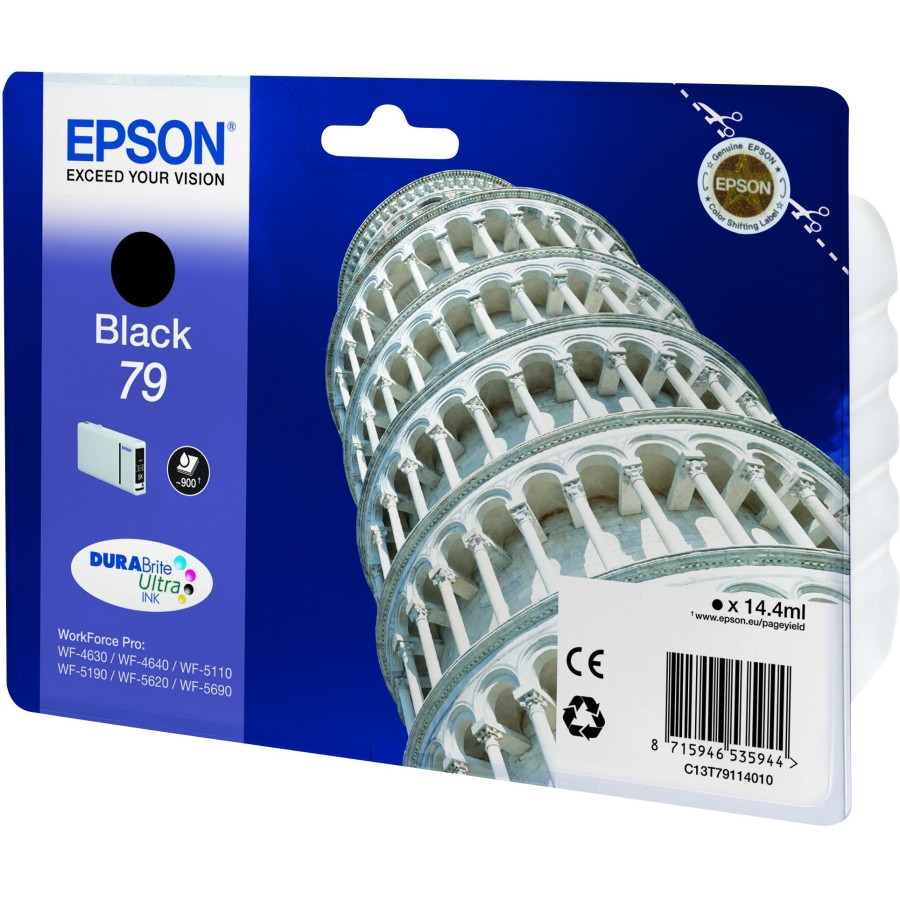 Epson DURABrite 79 Ink Cartridge - Black
