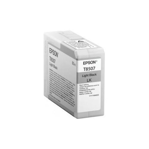 Epson UltraChrome HD T8507 Ink Cartridge - Light Black