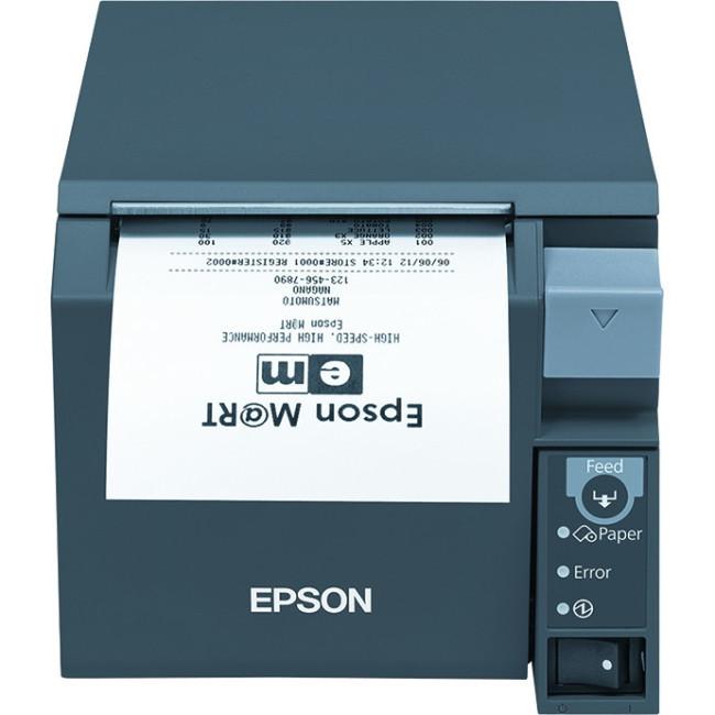 Epson TM- T70II Direct Thermal Printer - Monochrome - Desktop - Receipt Print