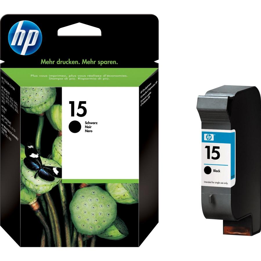 HP 15 Ink Cartridge - Black