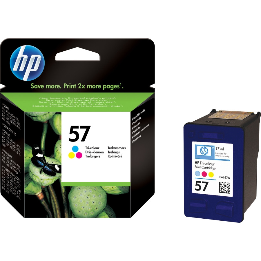 HP 57 Tri-Colour Ink Cartridge