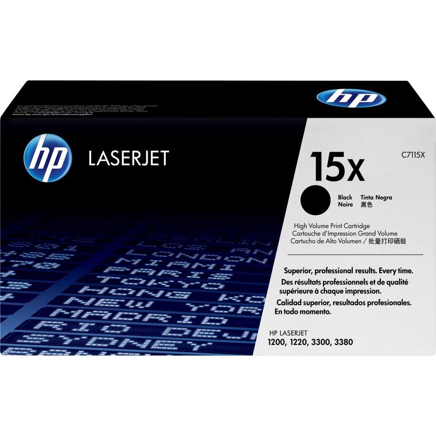 HP 15X Toner Cartridge - Black