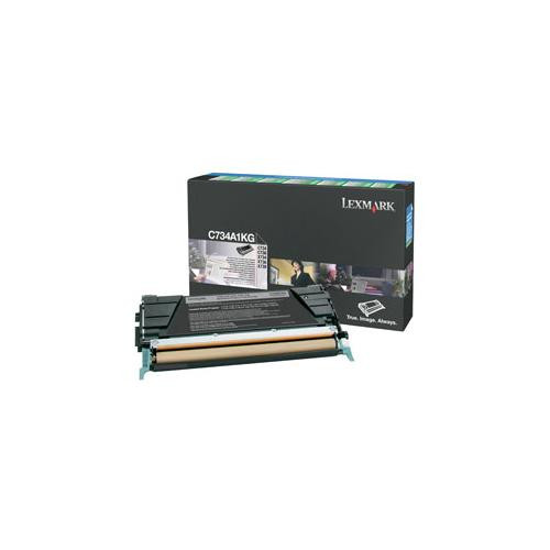 Lexmark C734A1KG Toner Cartridge - Black