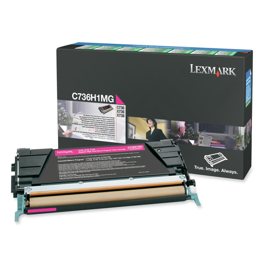 Lexmark Toner Cartridge - Magenta