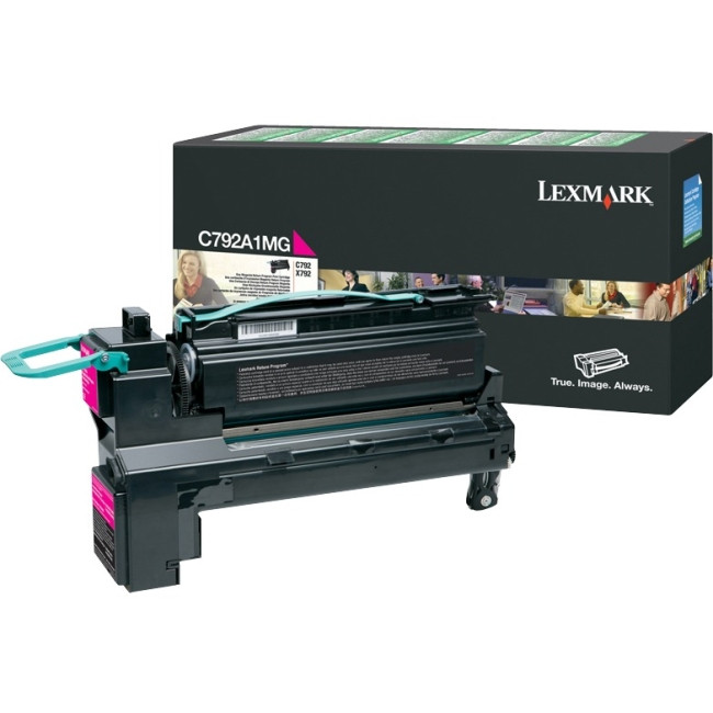 Lexmark C792A1MG Toner Cartridge - Magenta