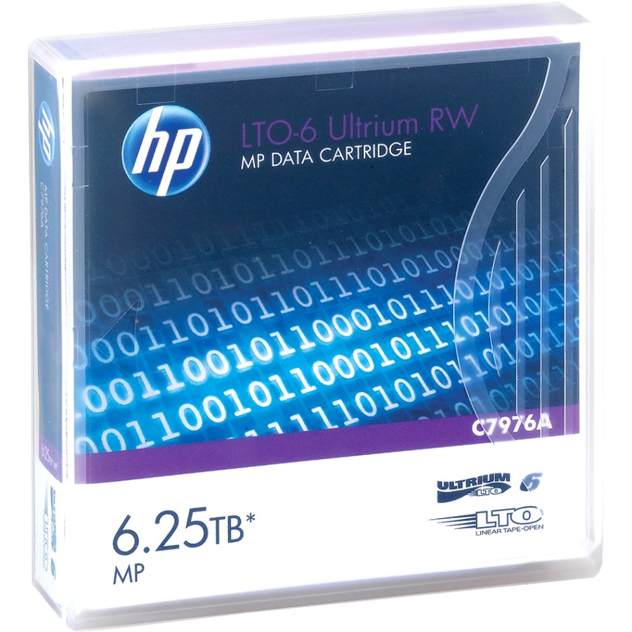 HP Data Cartridge LTO-6 - 1 Pack