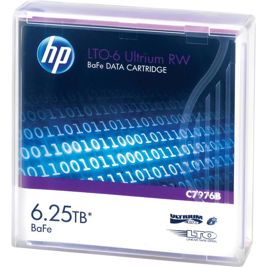HP Data Cartridge LTO-6 - Labeled - 1 Pack