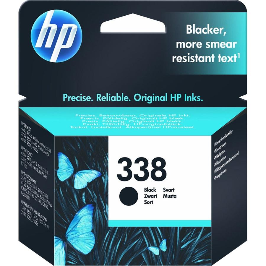HP No. 338 Black Ink Cartridge