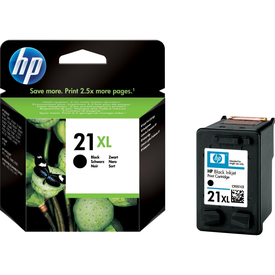 HP 21XL Ink Cartridge - Black