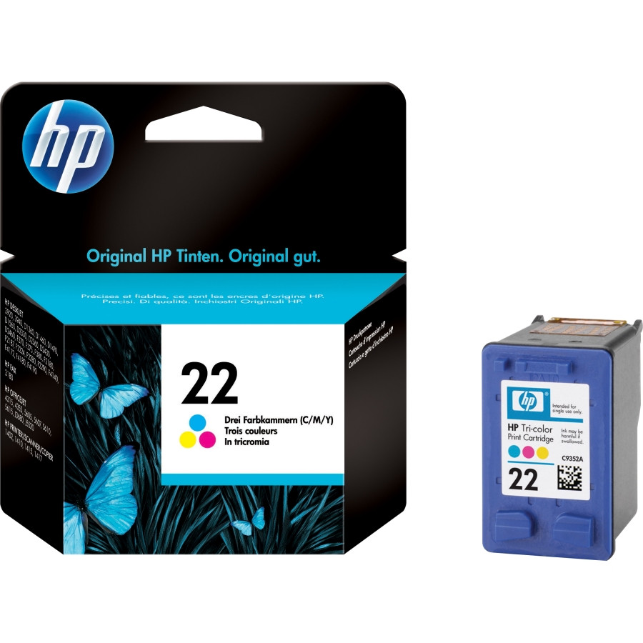 HP 22 Colour Print Cartridge