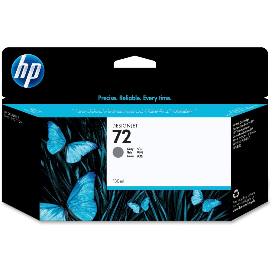 HP 72 Ink Cartridge - Grey