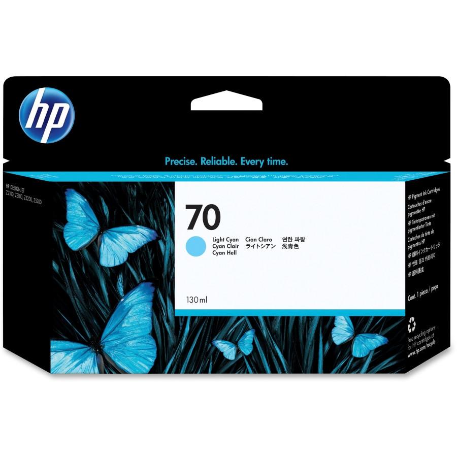 HP 70 Ink Cartridge - Light Cyan