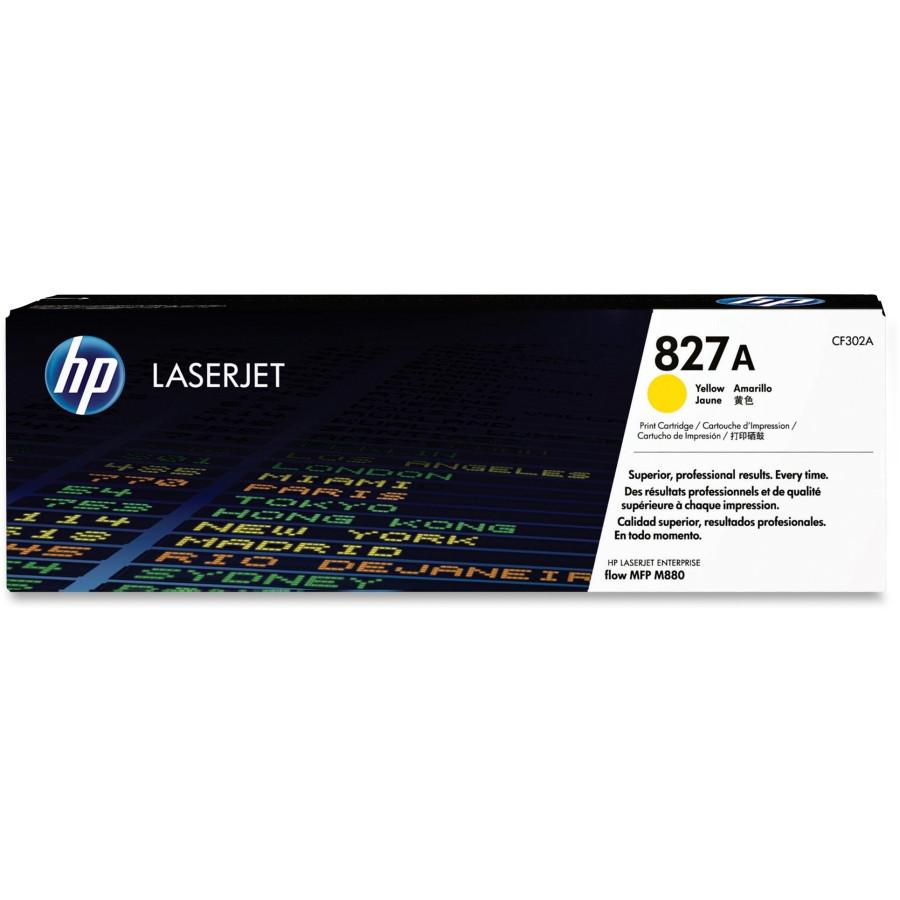 HP 827A Toner Cartridge - Yellow