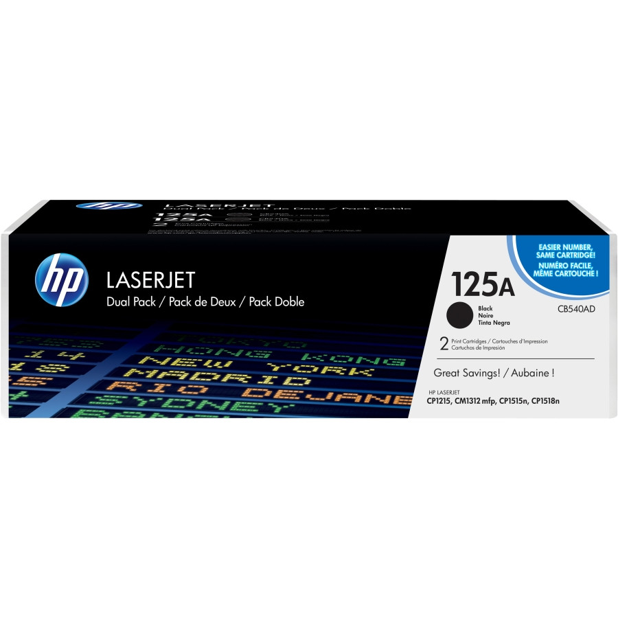 HP 125A Toner Cartridge - Black
