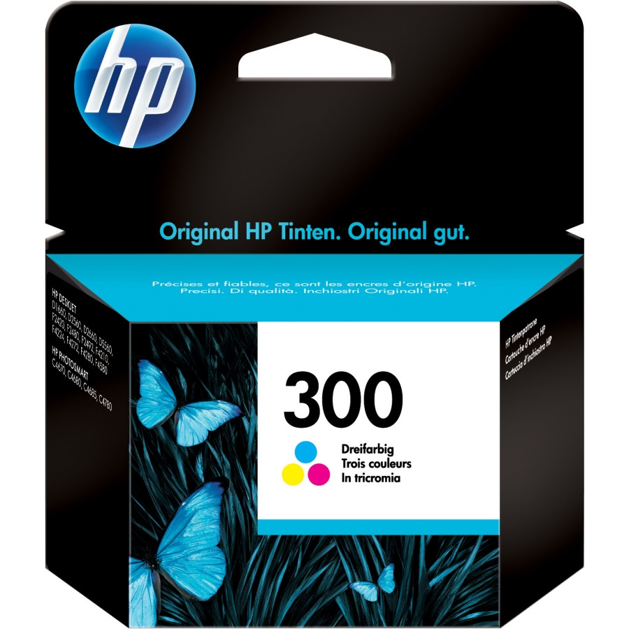 HP 300 Ink Cartridge - Cyan, Magenta, Yellow