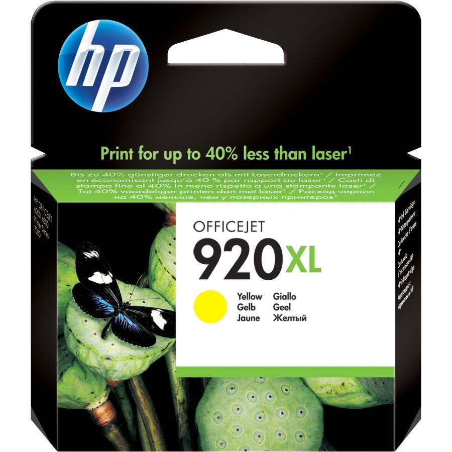 HP 920 XL Ink Cartridge - Yellow