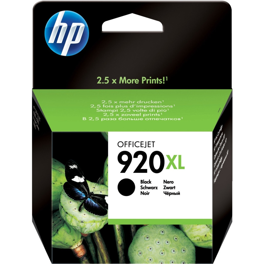 HP 920 XL Ink Cartridge - Black