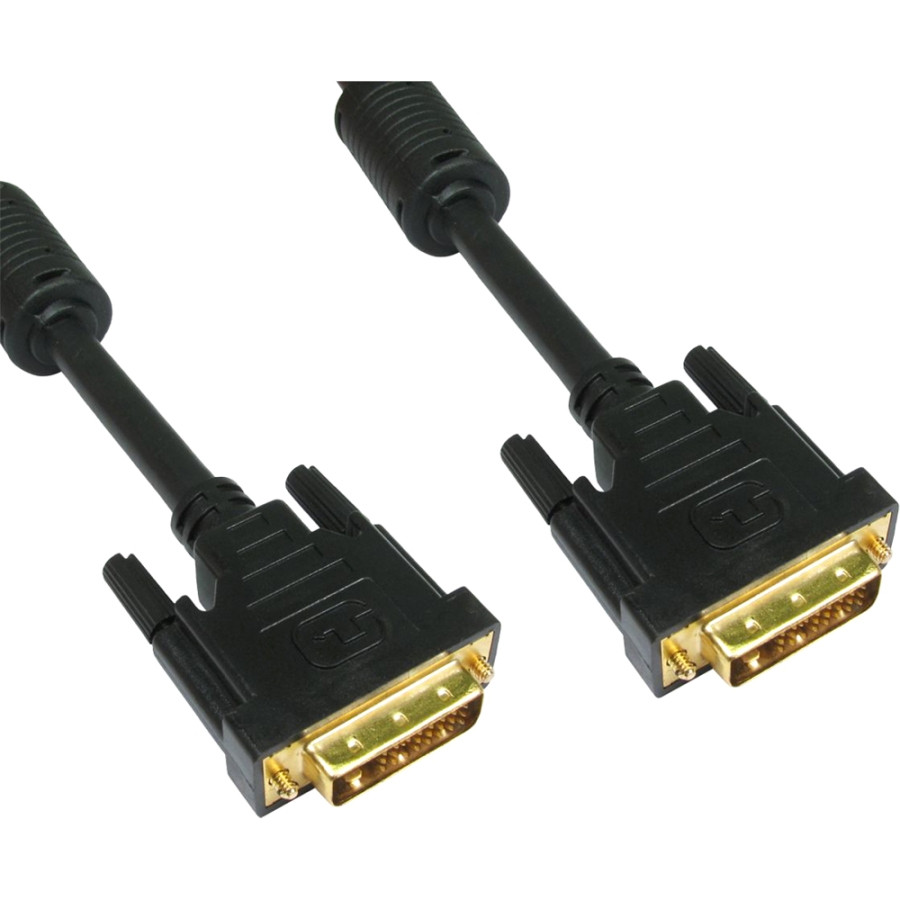 Cables Direct CDL-DV201 DVI Video Cable for Monitor - 1 m