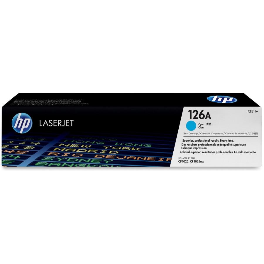 HP 126A Toner Cartridge - Cyan