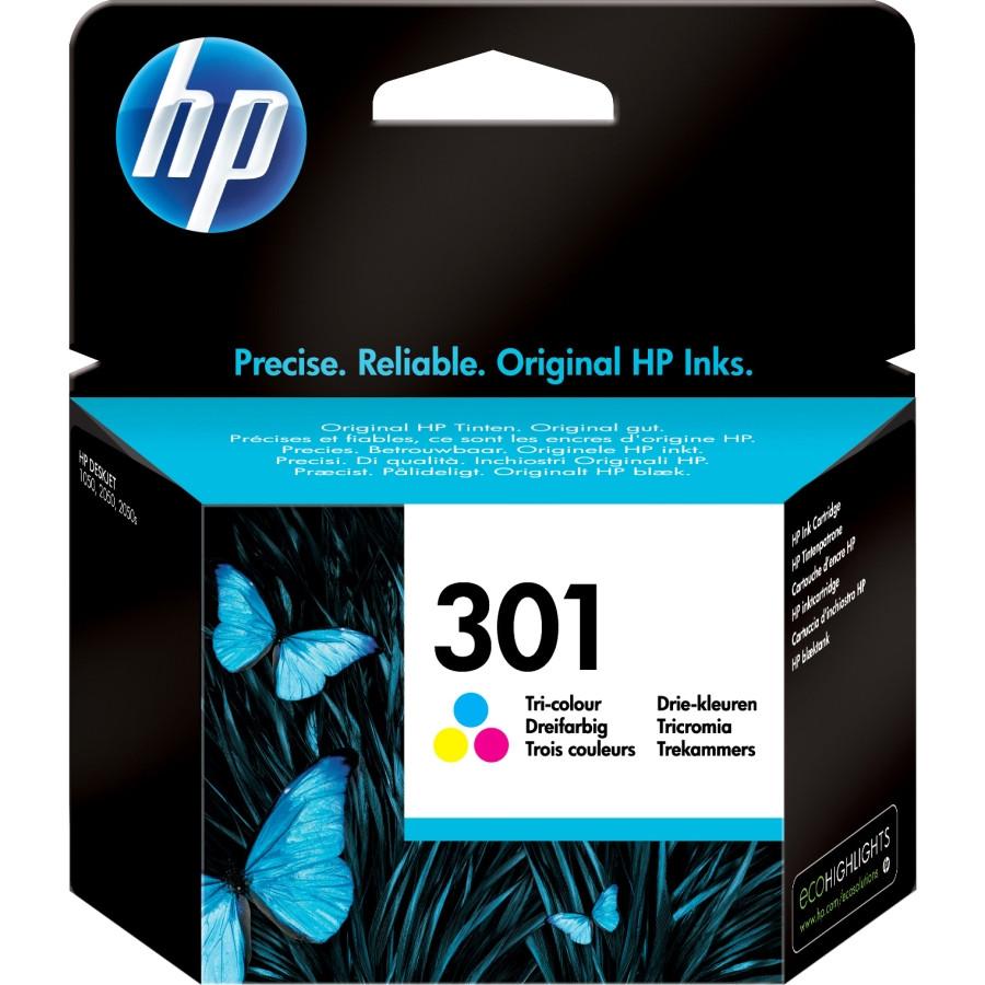 HP 301 Ink Cartridge - Cyan, Magenta, Yellow