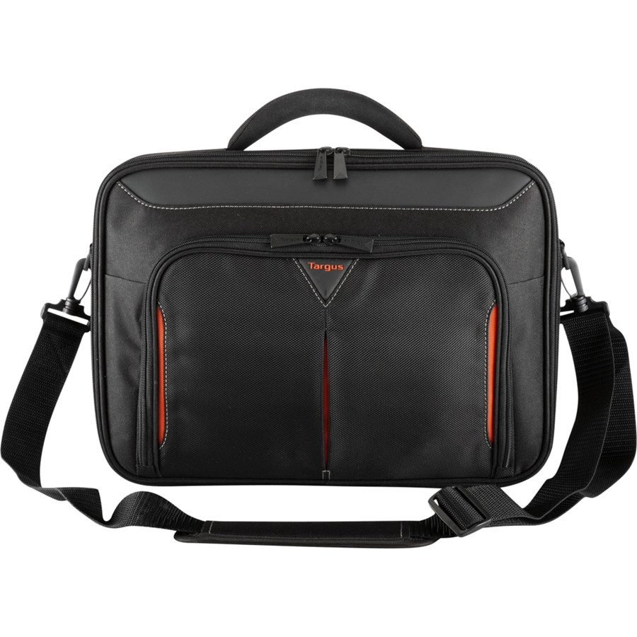 """Targus Classic+ CN418EU Carrying Case for 45.7 cm (18"""") Notebook - Black, Red"""
