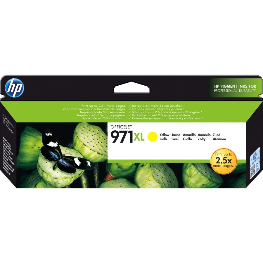 HP 971XL Ink Cartridge - Yellow