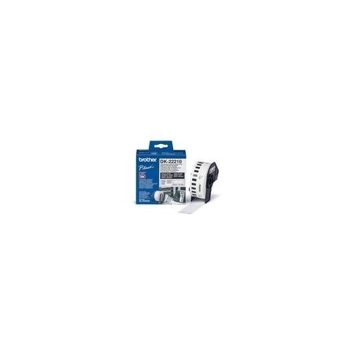 Brother DK22210 Label Tape - 29 mm Width x 30.40 mm Length