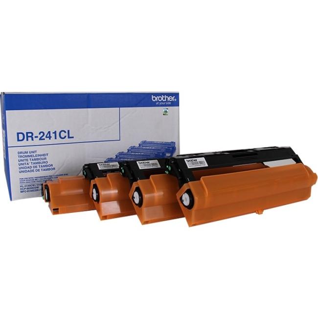 Brother DR241CL Laser Imaging Drum for Printer - Black