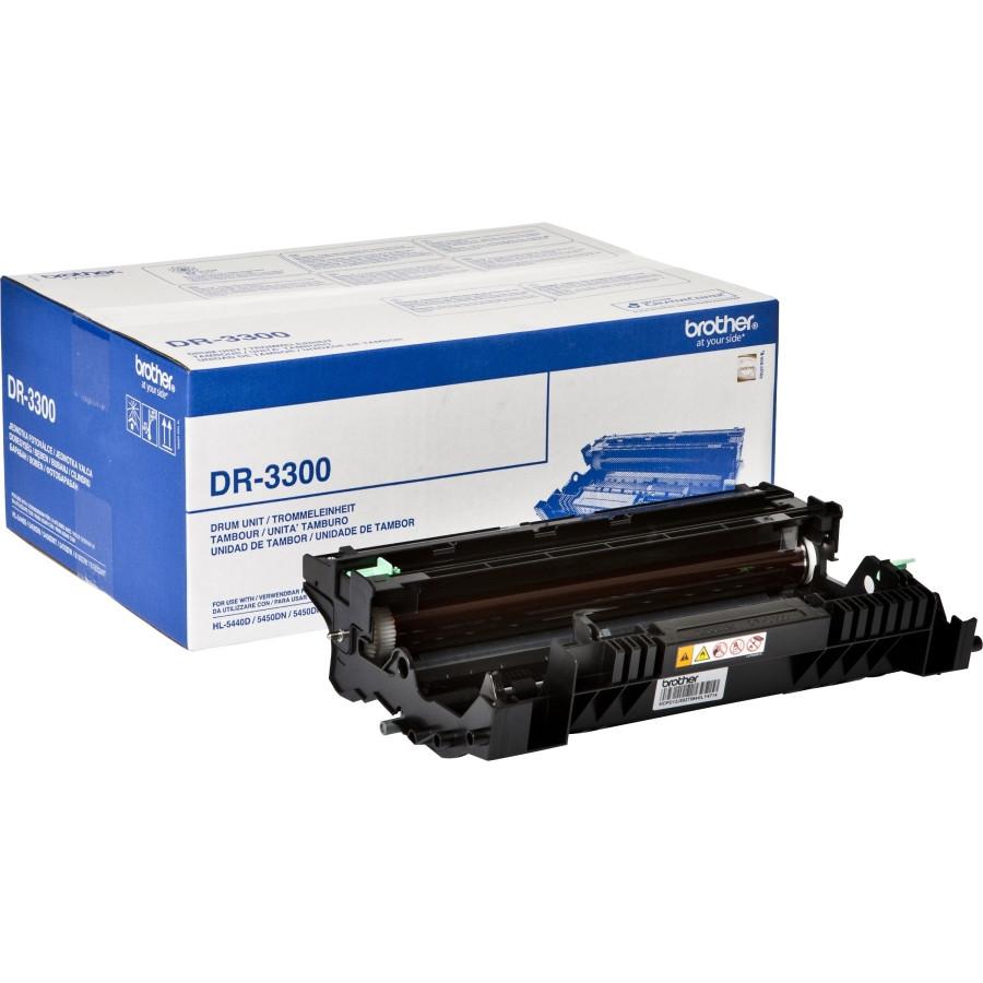 Brother DR3300 Laser Imaging Drum for Printer - Black