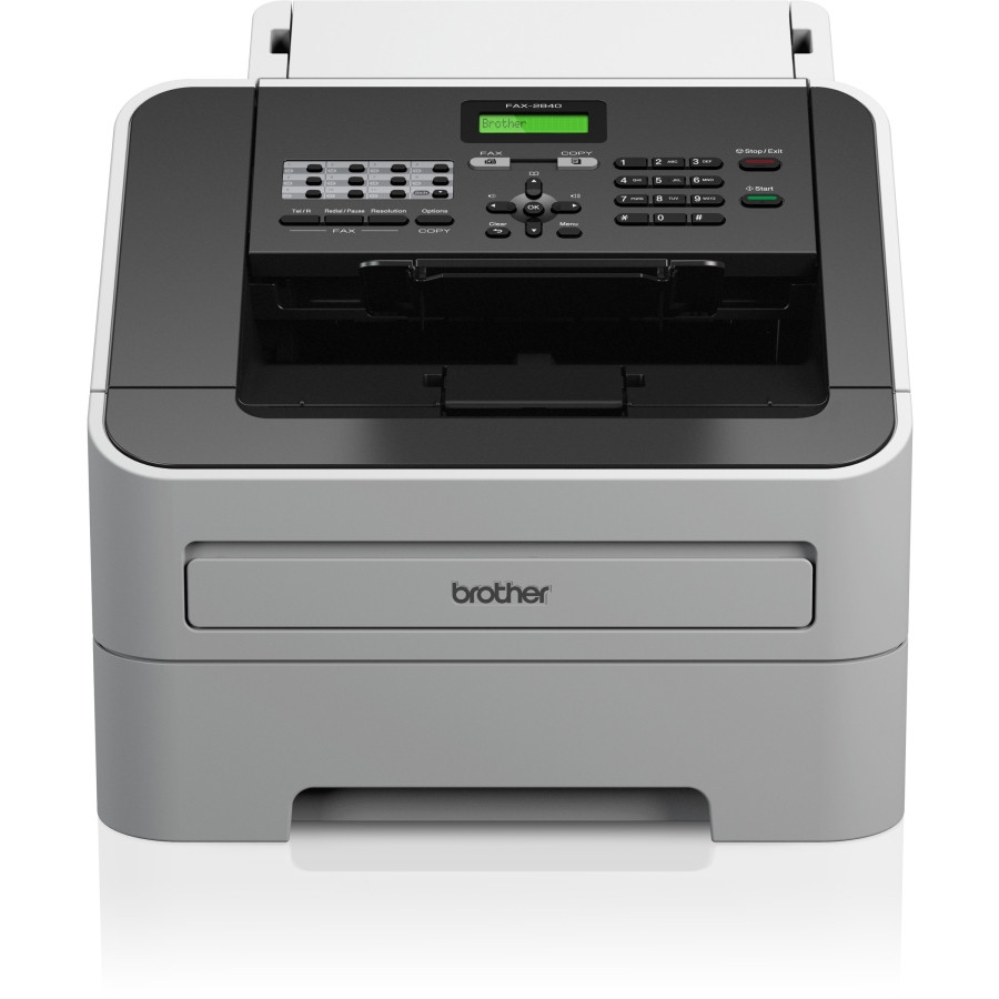 Brother FAX-2840 Facsimile/Copier Machine - Laser - Monochrome Digital Copier