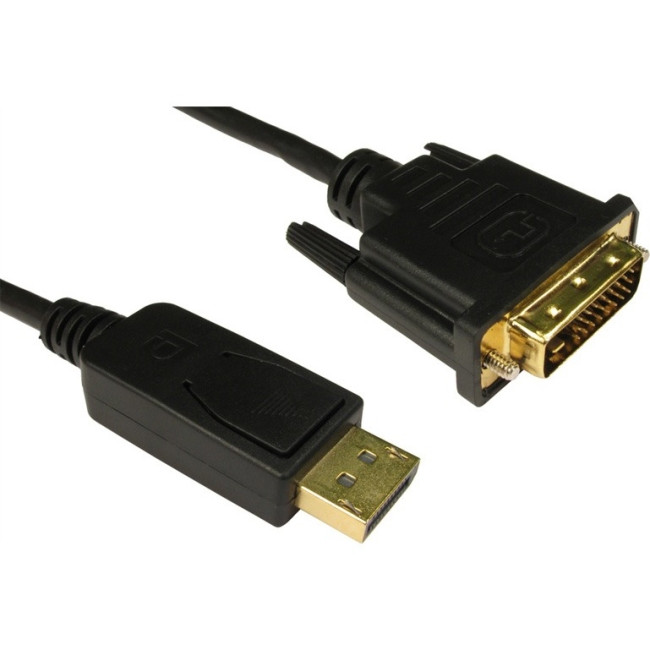 Cables Direct DisplayPort/DVI A/V Cable for Audio/Video Device - 2 m