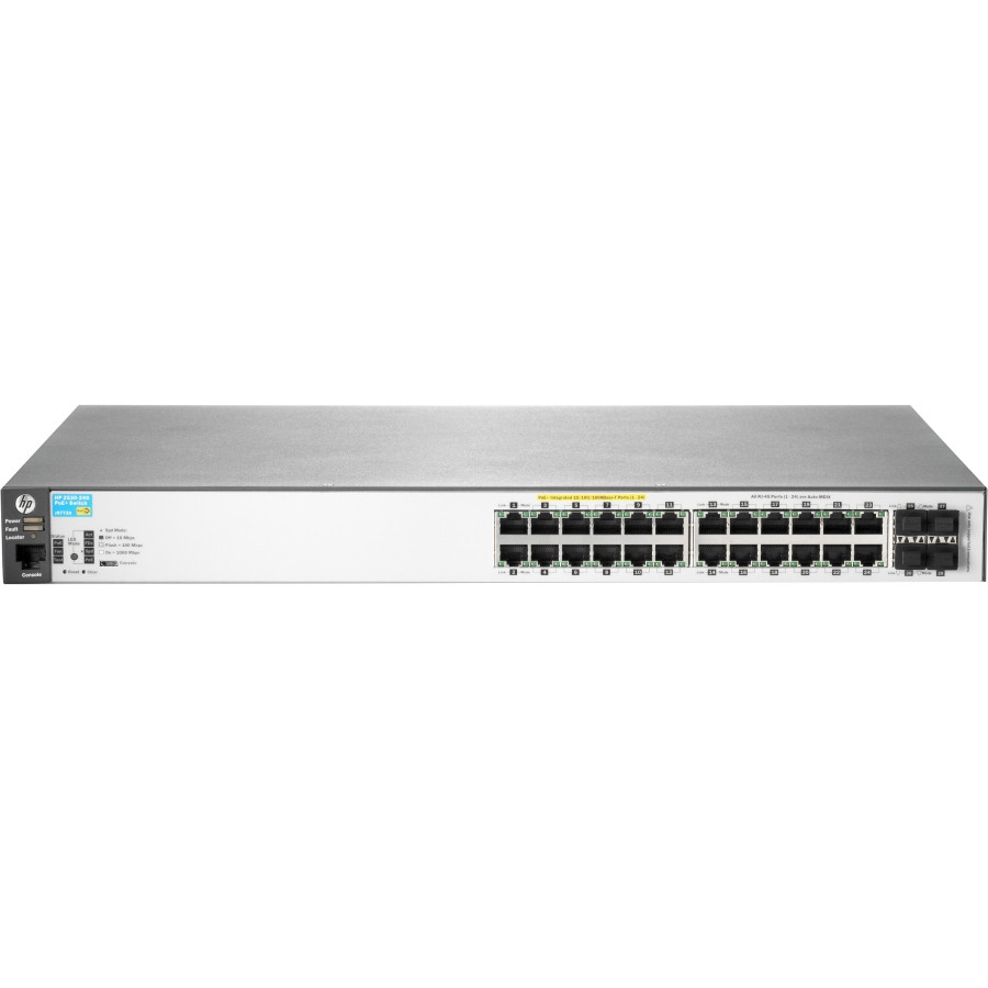 HP 2530-24G-PoE+ 24 Ports Manageable Ethernet Switch