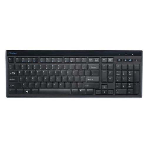 Kensington Advance Fit 72357 Keyboard - Cable Connectivity - Black
