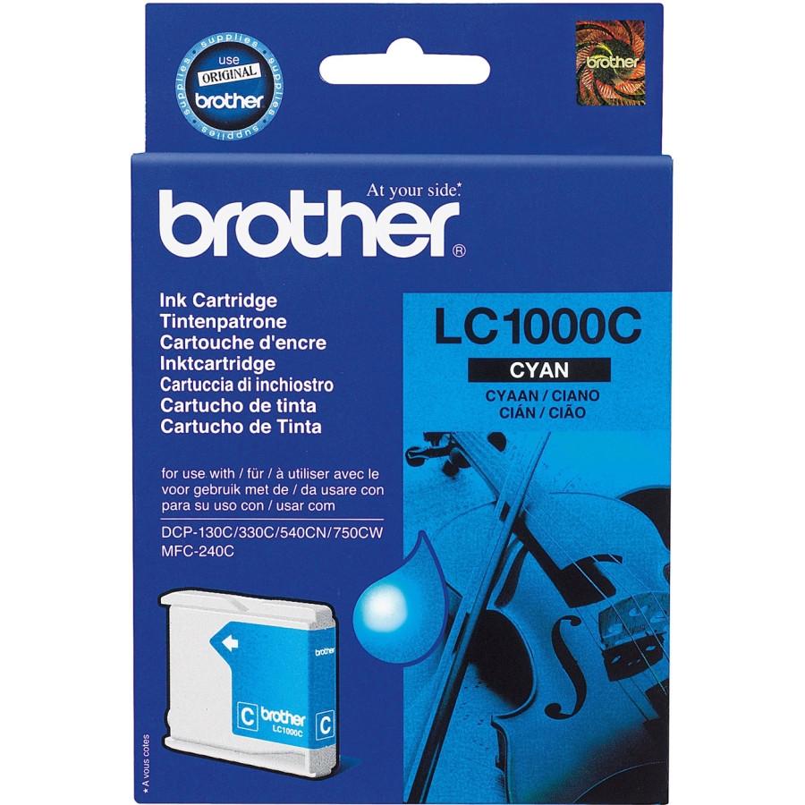 Brother LC-1000C Ink Cartridge - Cyan