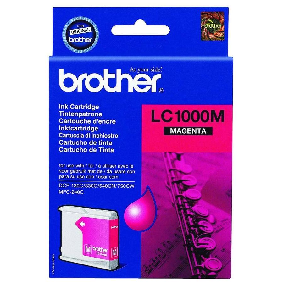 Brother LC1000M Ink Cartridge - Magenta