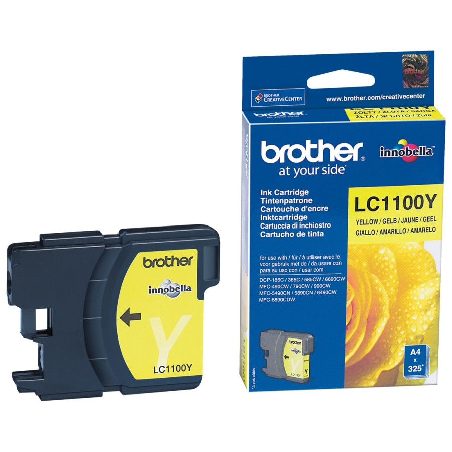 Brother LC-1100Y Ink Cartridge - Yellow
