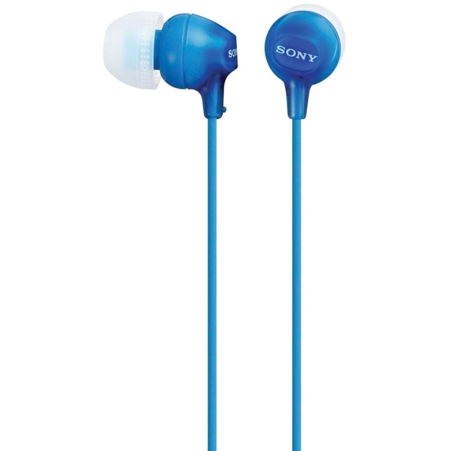 Sony Wired Stereo Earphone - Earbud - In-ear - Blue