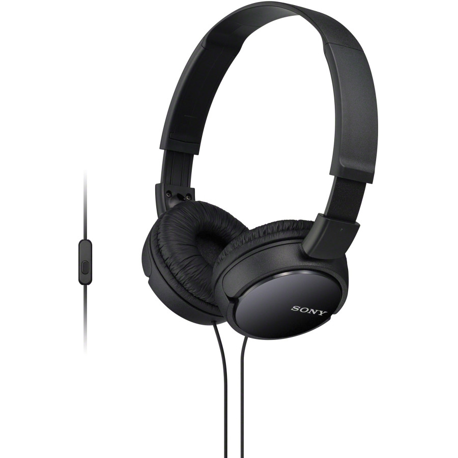Sony MDR-ZX110/B Wired Stereo Headphone - Over-the-head - Supra-aural - Black