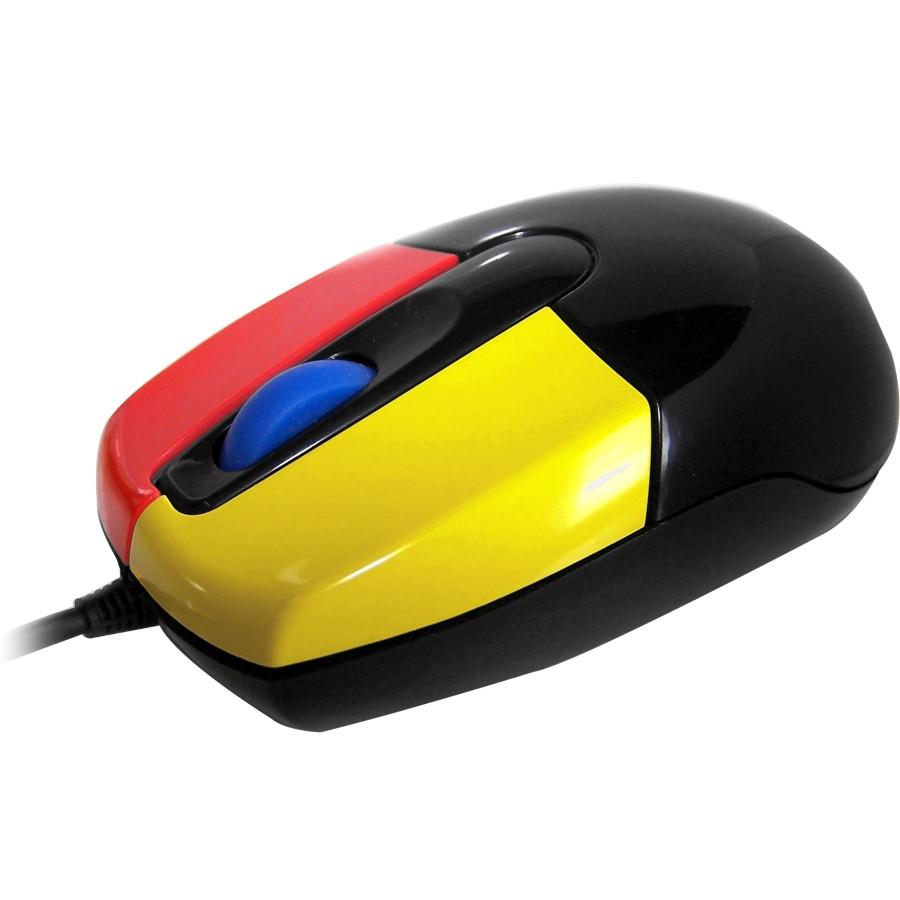 Accuratus Junior Mouse - Optical - Cable - Black