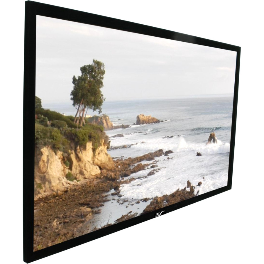 "Elite Screens ezFrame R135WH1 Fixed Frame Projection Screen - 342.9 cm (135"") - 16:9 - Wall Mount"