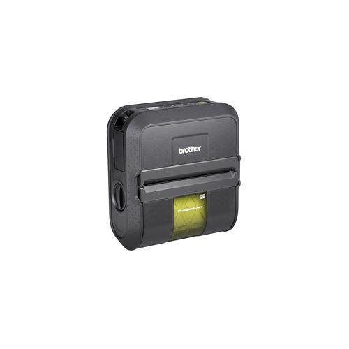 Brother RJ-4030 Direct Thermal Printer - Monochrome - Portable - Label Print