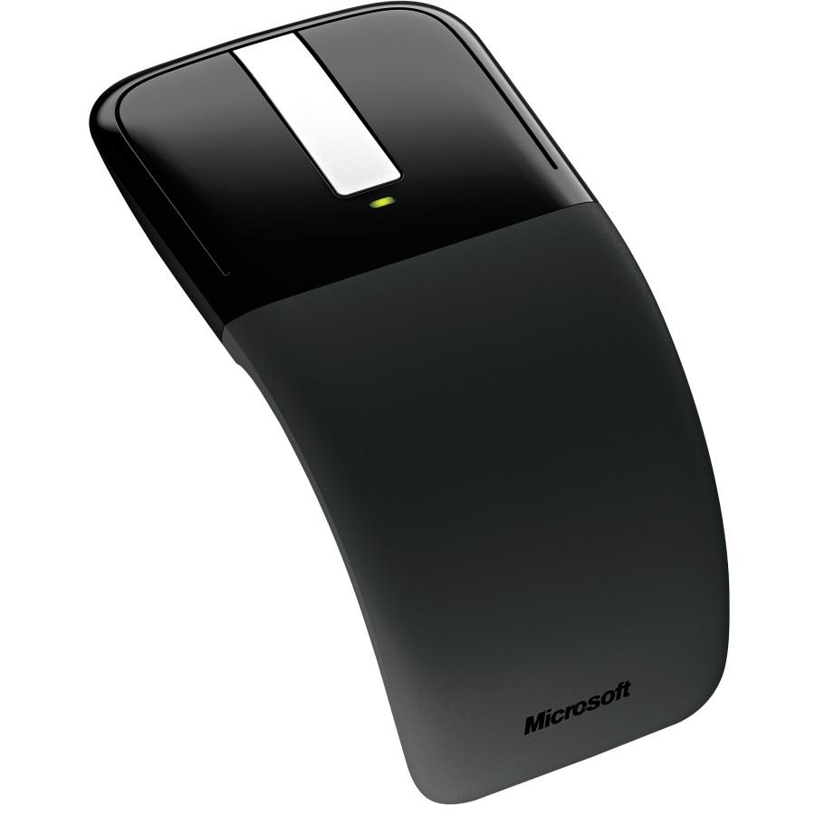 Microsoft Arc Touch Mouse - BlueTrack - Wireless - Black