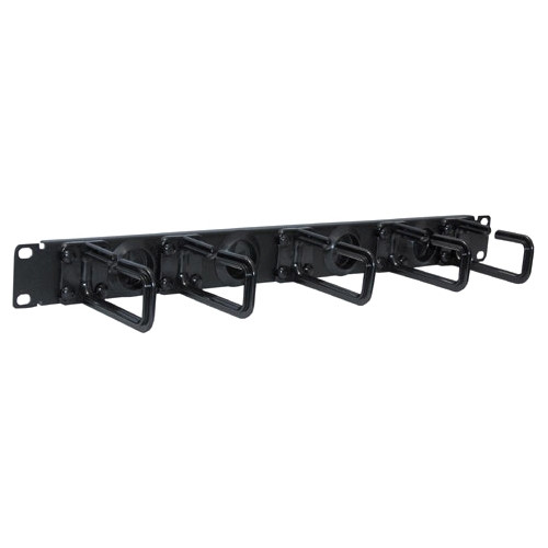 Tripp Lite SRCABLERING1U Cable Panel - Black