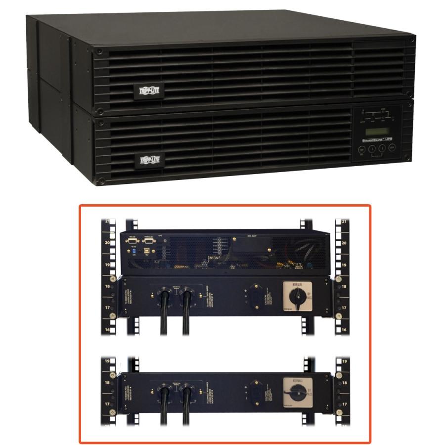 Tripp Lite SmartOnline SU6000RT4UHVHW Dual Conversion Online UPS - 6000 VA/5400 W - 4U Tower/Rack Mountable