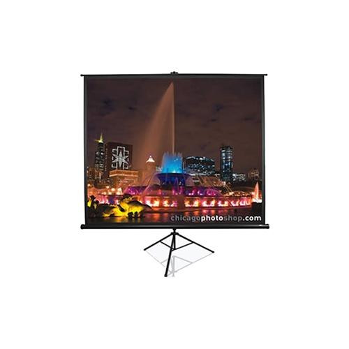 "Elite Screens Tripod T99NWS1 Manual Projection Screen - 251.5 cm (99"") - 1:1"