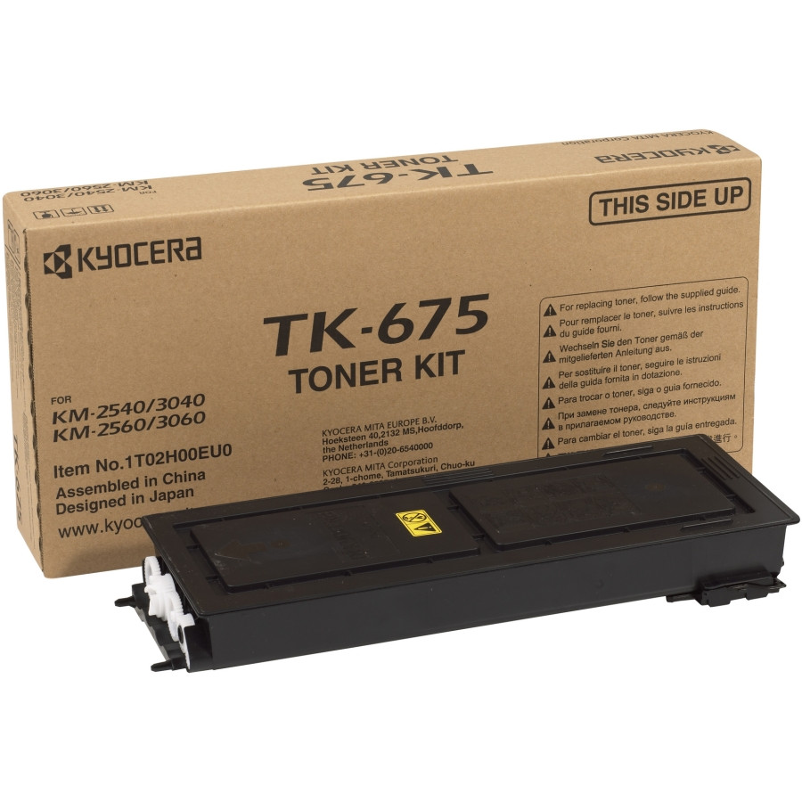 Kyocera TK-675 Toner Cartridge - Black