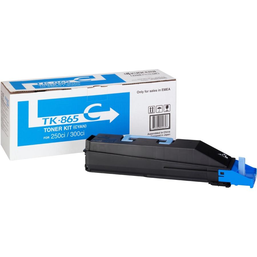 Kyocera TK-865C Toner Cartridge - Cyan