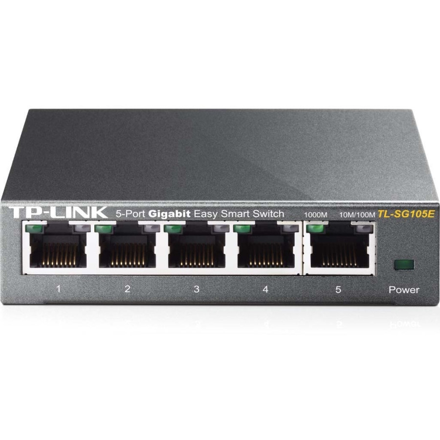 TP-LINK EasySmart TL-SG105E 5 Ports Manageable Ethernet Switch