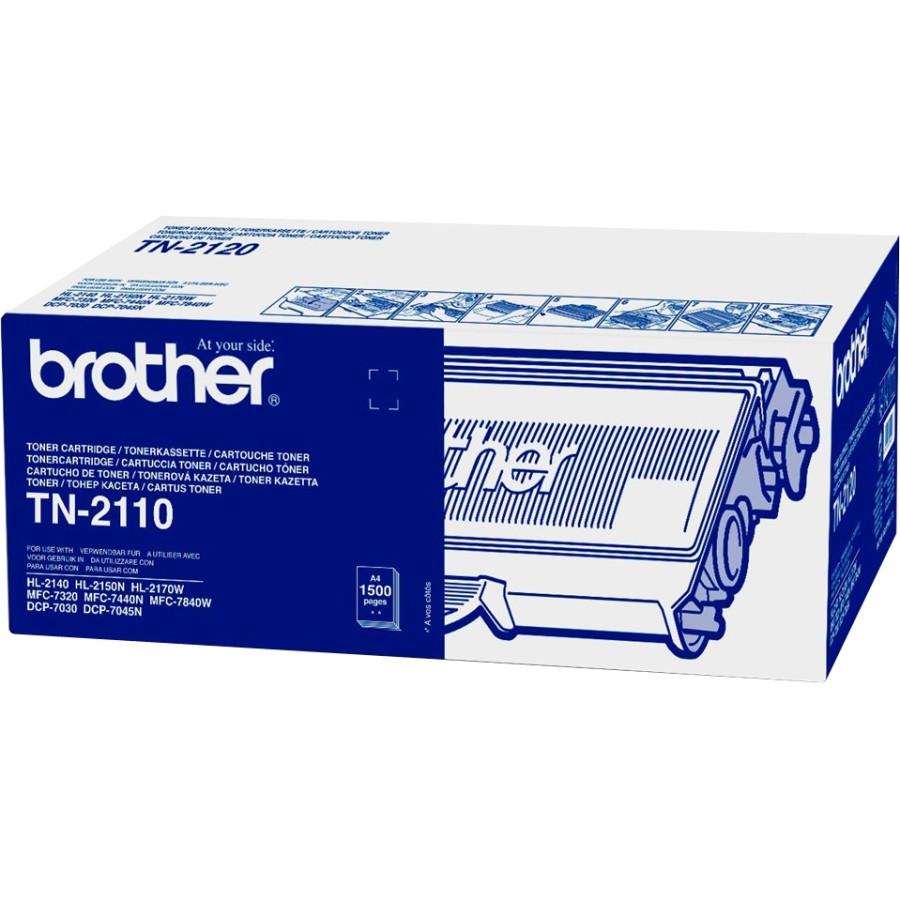 Brother TN-2110 Toner Cartridge - Black
